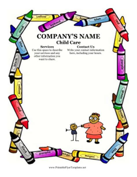 Daycare business plan samples