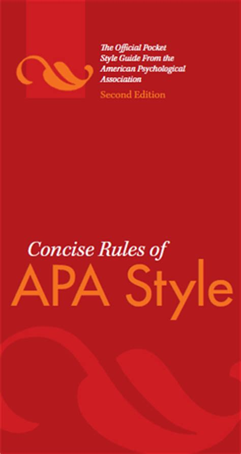 Apa standards for report writing